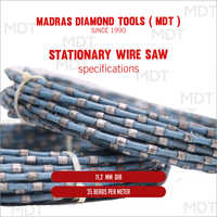 Sizes Available Statutory Wire Saw