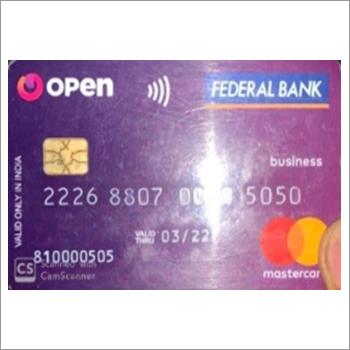 Banking Prepaid Card