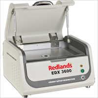 EDX 3600 Redlands Gold Purity Spectrum Analyzer