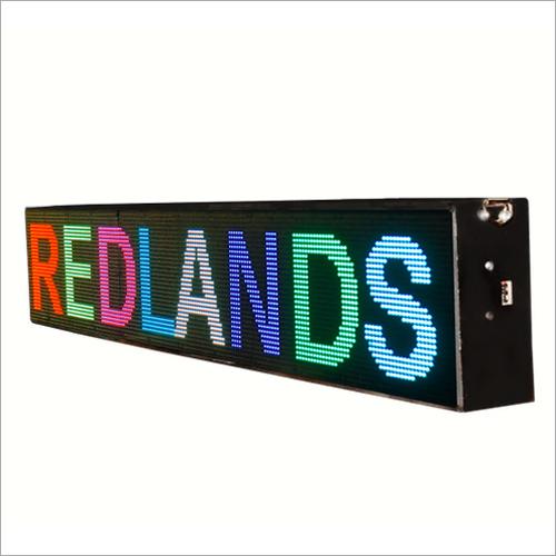 Redlands LED Moving Message Displays