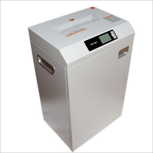 XM 200C Paper Shredding Machine