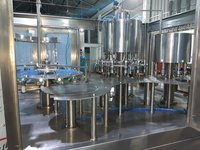 5400 BPH CDS PET Bottle Filling Machine