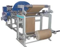 Paper Bag Making Machine With Two Colour Printing Machine