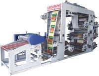 Paper Cup Blank 6 Colour Flexo Printing Machine