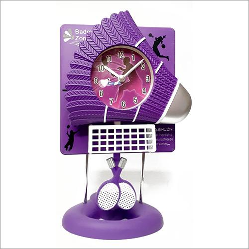 Badminton Cock Pandulum Table Clock