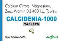 Calcium Citrate, Magnisium, Zinc , Vitamin D3 Tablets