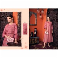 Pure Viscose Party Wear Fashionable Gown