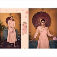 Pure Viscose Party Wear Gown