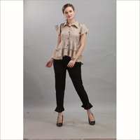 Premium Weaving Cotton Top With Standard Quality Knitted Stylish Upper with Bottom Wear