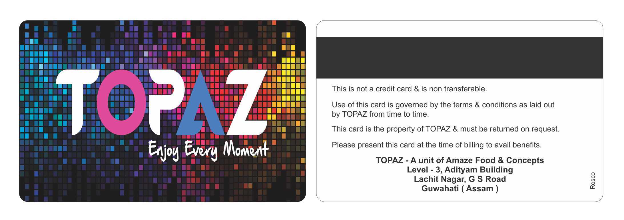 Screen Guest Cards