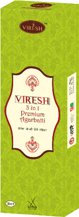 Viresh 3 in 1 Agarbatti