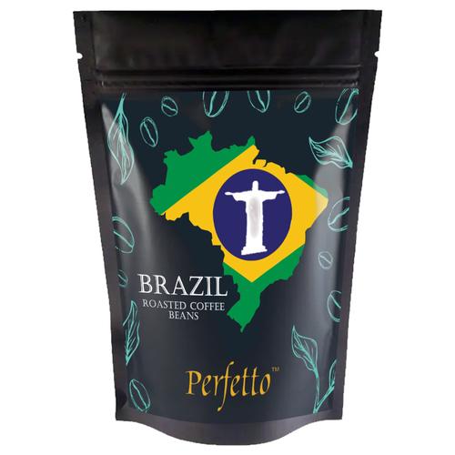 Perfetto Brazil Santos Grade 19 Arabica Roasted Beans