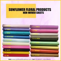 Turquoise Blue Non Woven Sheet