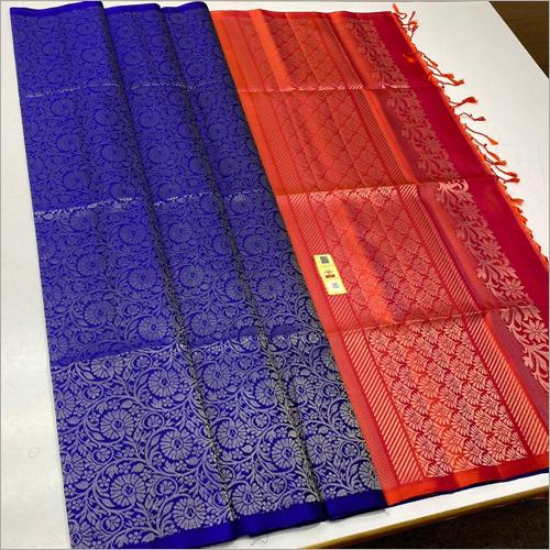 Ladies Double Shade Silk Sarees