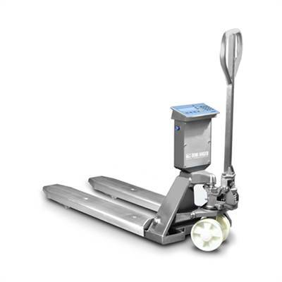 Ss Weighing Scale Pallet Truck