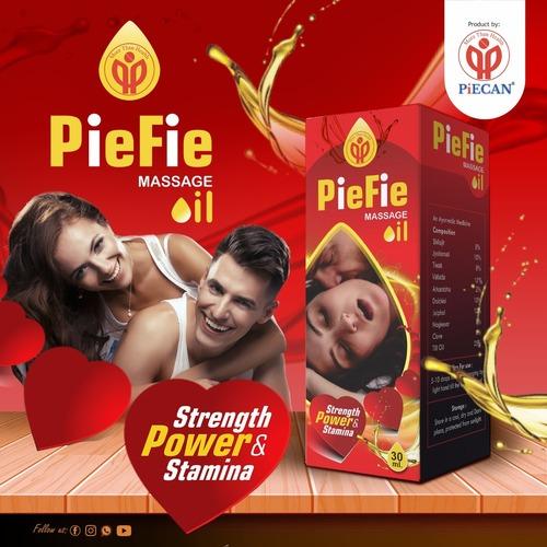 PieFie Massage Oil For Man Strength, Power & Stamina 30ml