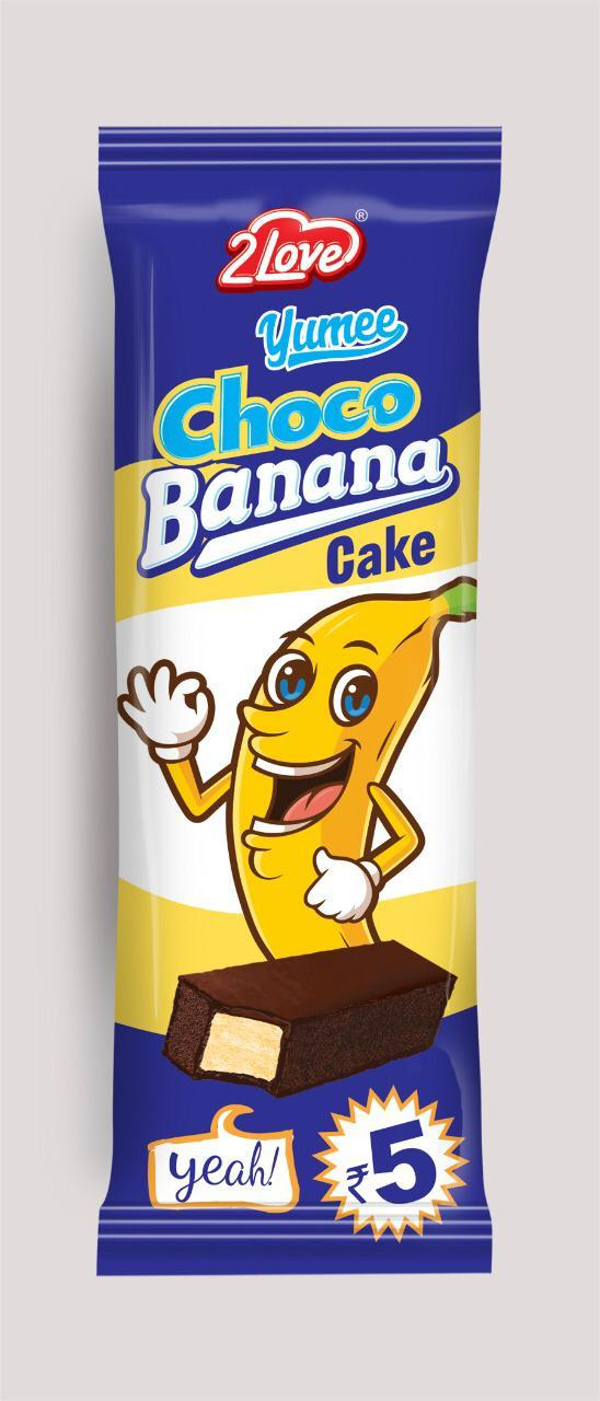 Choco Banana Cakes