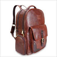 Leatherette Fabric Backpack Bags