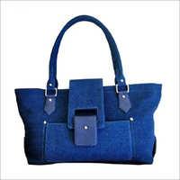 Ladies Denim Fabric Hand Bags
