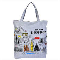 Canvas Fabric Shopping Bags