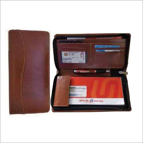Leatherette Cheque Book Holder