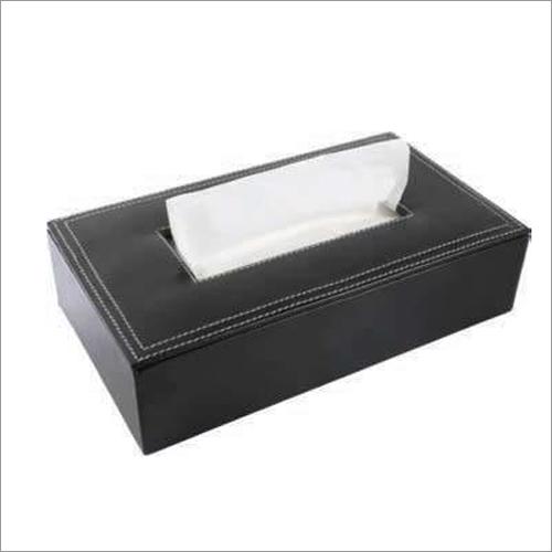 Premium Leatherette Tissue Box