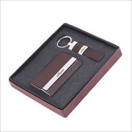 2 In 1 Business Card Holder And Keychain
