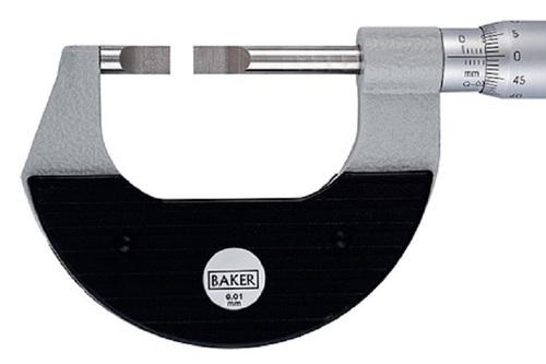BAKER GAUGES MMC25-NBSpecial External Micrometer - Blade