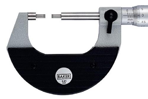 BAKER GAUGES MMC25-S2 Special External Micrometer - Spline