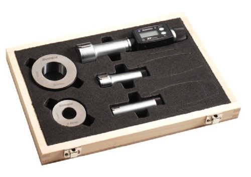 BAKER GAUGES XTD1M-BT Digital Internal Micrometer - XTD Series Ratchet Type