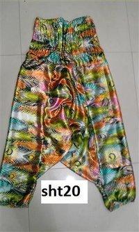 Printed Harem Pants