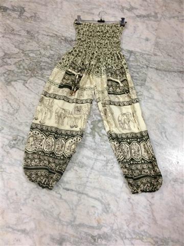 Rayon Elephant Printed Harem Pants