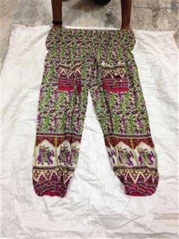African Clothes High Waist Boho Yoga Pants
