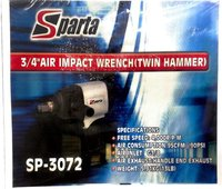 Sparta 3/4'' Air Impact Wrench - Twin Hammer ( Sp-3072)