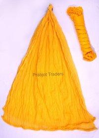 Yellow Cotton Dupatta
