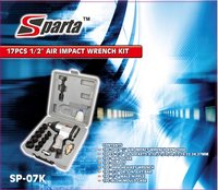 Sparta 1/2''- 17pc Air Impact Wrench Kit With 10 Sockets (Sp-07k)