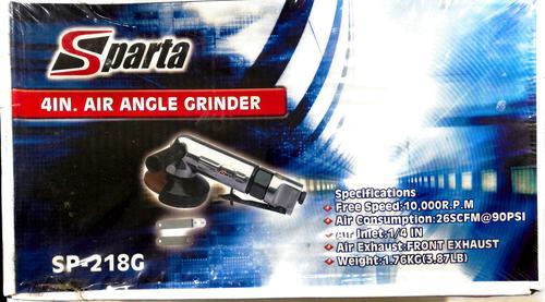 Sparta 4'' Air Angle Grinder (Sp-218g)