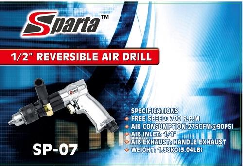 Sparta 1/2'' Reversible Air Drill (Sp-07)