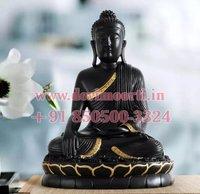Black Small Marble Buddha statue