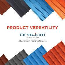Oralium Grantile Aluminium Profile Roofing Sheets