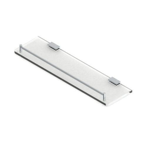 Glass Shelf With Rail-Rectangular
