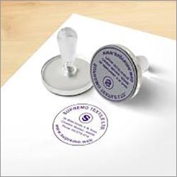 Basic Rubber Stamp Round