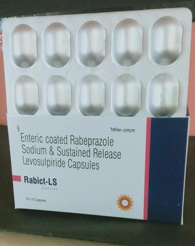 Enteric coasted Rabeprazole Sodium capsules