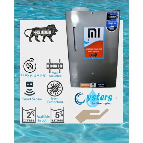 Sanitizer Cabinet Mi Mist 5 Ltr