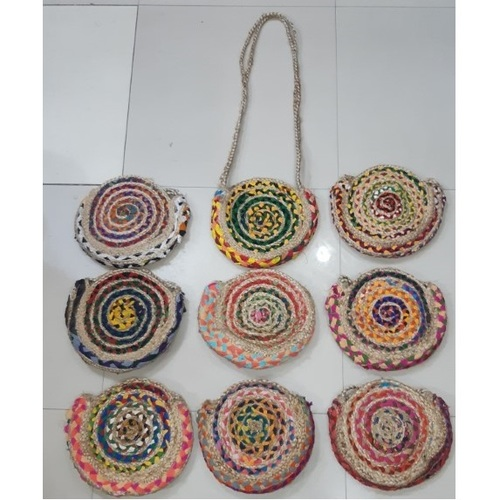 Women Beach Woven Tote Bag With Sling