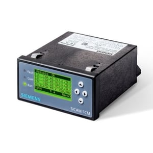 SIEMENS SICAM FCM FEEDER CONDITION MONITOR SHORT-CIRCUIT INDICATOR FOR CABLE