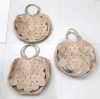 Jute Round Bag With Handle
