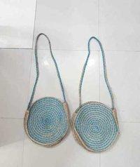 Handmade Jute Bag With Long Sling