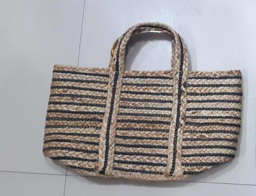 Hand Braided Handbag Jute Rope Bags,