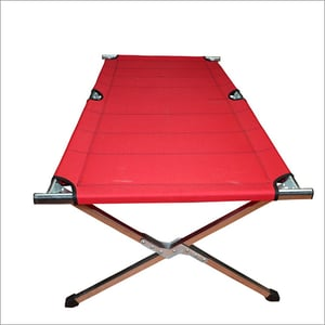 Red Stainless Steel Folding Table